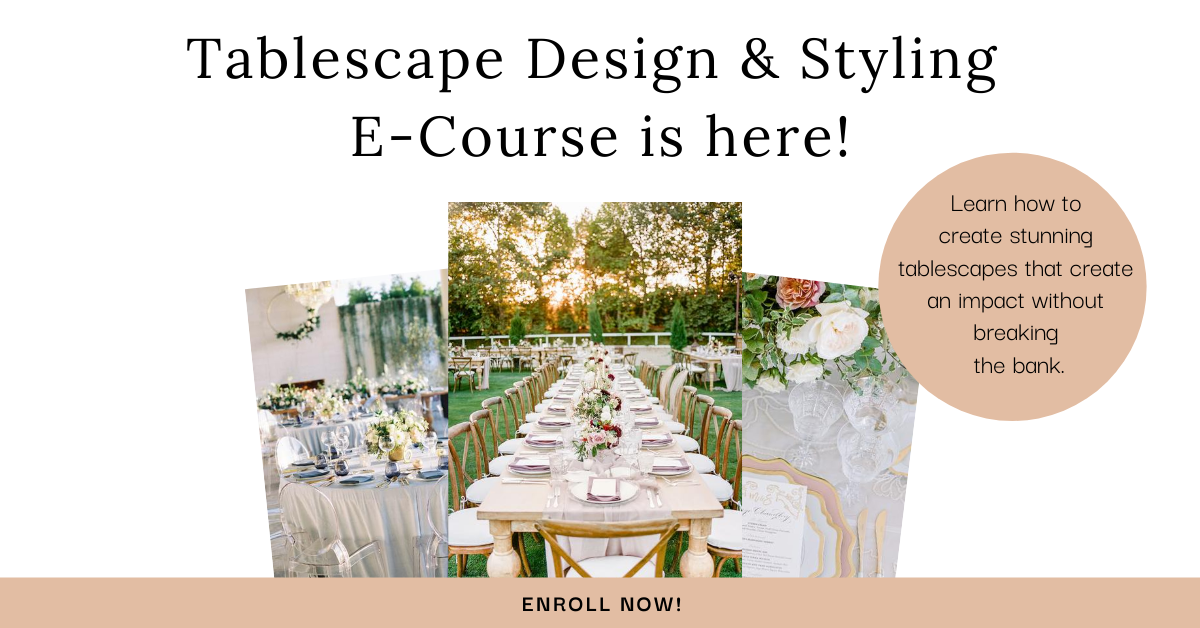 Tablescape Design & Styling E-Course from RMBO Collective