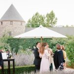Provide sun coverage like umbrellas when planning outdoor weddings