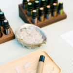 Essential oils are blended with crystals to add potency to their power.